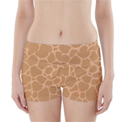 Autumn Animal Print 10 Boyleg Bikini Wrap Bottoms