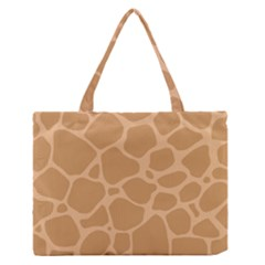 Autumn Animal Print 10 Zipper Medium Tote Bag