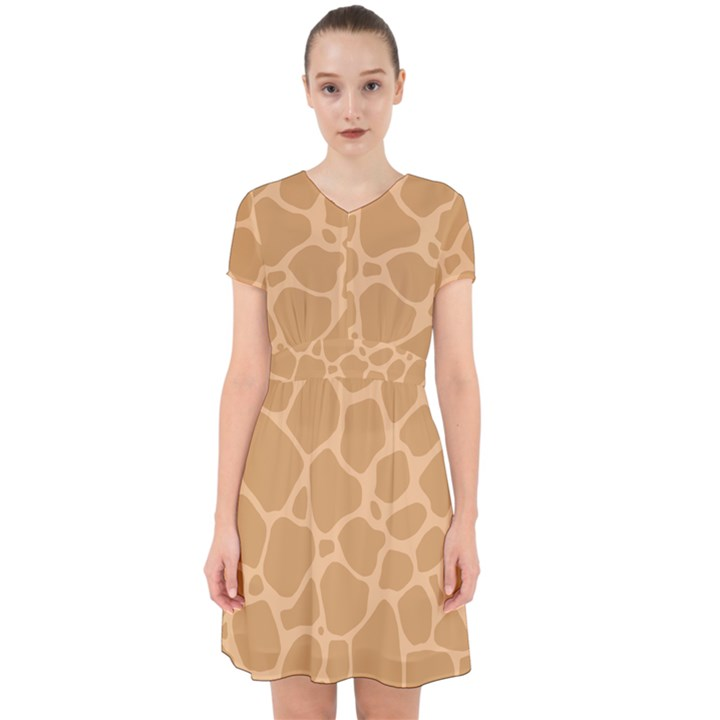 Autumn Animal Print 10 Adorable in Chiffon Dress