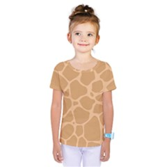 Autumn Animal Print 10 Kids  One Piece Tee