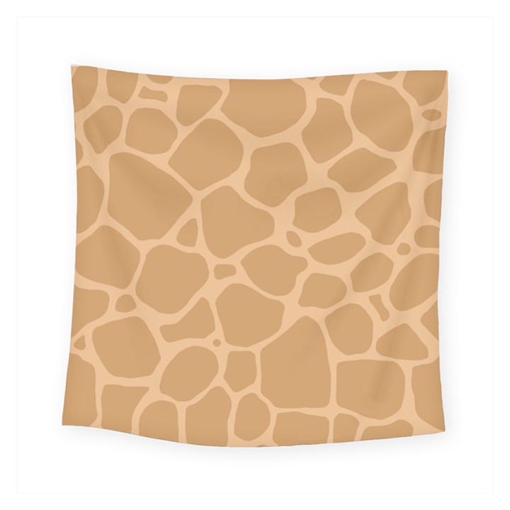 Autumn Animal Print 10 Square Tapestry (Small)