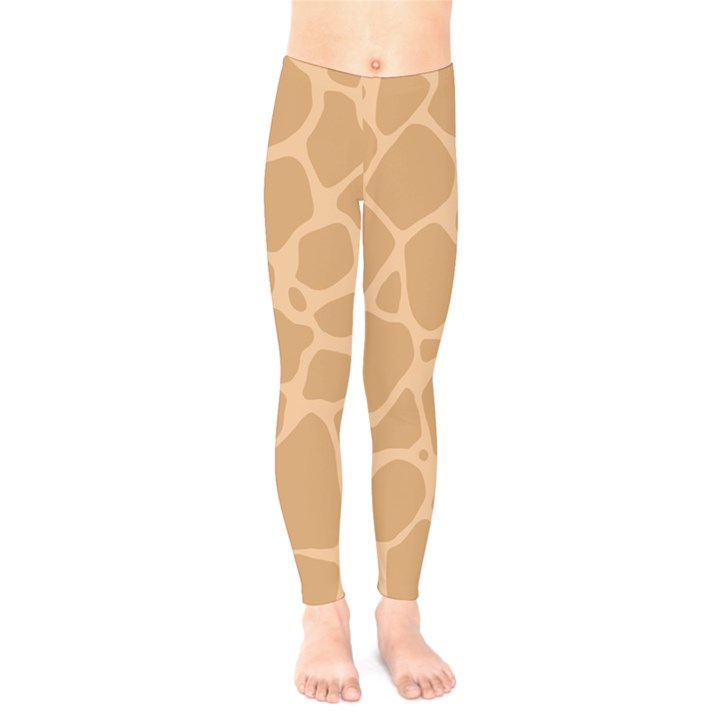 Autumn Animal Print 10 Kids  Legging