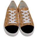 Autumn Animal Print 10 Women s Low Top Canvas Sneakers View1