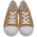 Autumn Animal Print 10 Kids  Low Top Canvas Sneakers View1