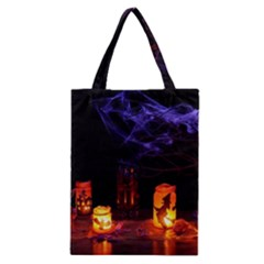 Awaiting Halloween Night Classic Tote Bag