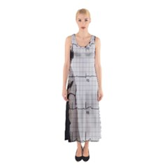 Dali s Heart Beat Sleeveless Maxi Dress