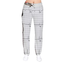 Dali s Heart Beat Drawstring Pants