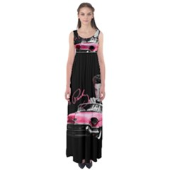 Elvis Presley s Pink Cadillac Empire Waist Maxi Dress