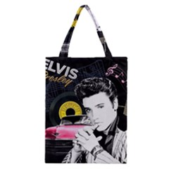 Elvis Presley Collage Classic Tote Bag