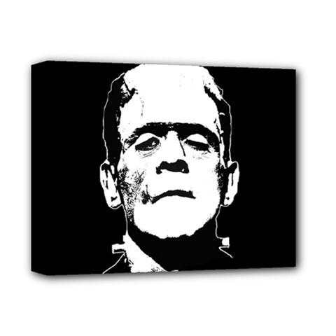 Frankenstein s Monster Halloween Deluxe Canvas 14  X 11
