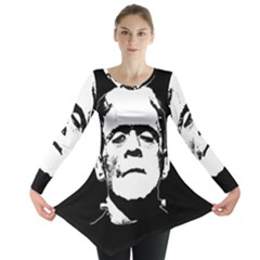 Frankenstein s Monster Halloween Long Sleeve Tunic