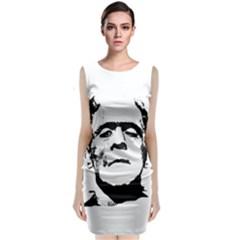 Frankenstein s Monster Halloween Classic Sleeveless Midi Dress