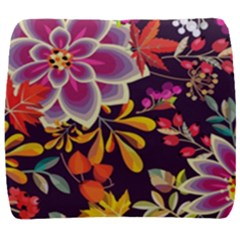 Autumn Flowers Pattern 6 Back Support Cushion