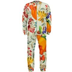 Autumn Flowers Pattern 11 Onepiece Jumpsuit (men)