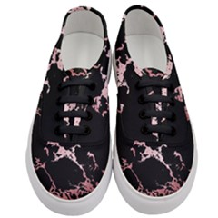 Luxurious Pink Marble 2 Women s Classic Low Top Sneakers