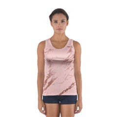 Luxurious Pink Marble 3 Sport Tank Top