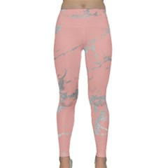 Luxurious Pink Marble 6 Classic Yoga Leggings