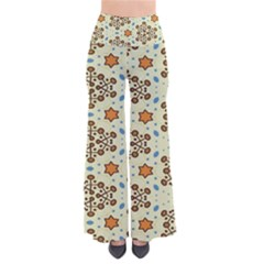 Stars And Other Shapes Pattern                         Women s Chic Palazzo Pants