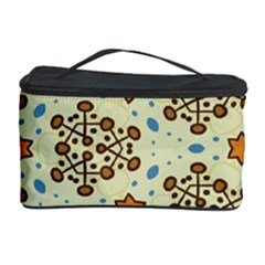 Stars And Other Shapes Pattern                               Cosmetic Storage Case