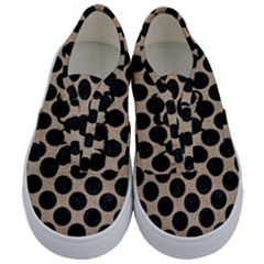 Circles2 Black Marble & Sand Kids  Classic Low Top Sneakers