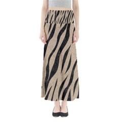 Skin3 Black Marble & Sand Full Length Maxi Skirt