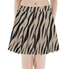 Skin3 Black Marble & Sand Pleated Mini Skirt