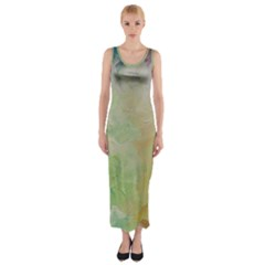 Painted Canvas                                 Fitted Maxi Dress