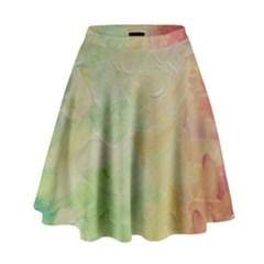 Painted Canvas                                   High Waist Skirt