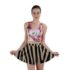 Skin4 Black Marble & Sand Mini Skirt