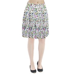 Paint On A White Background                              Pleated Skirt