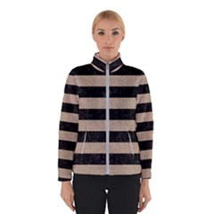 Stripes2 Black Marble & Sand Winterwear