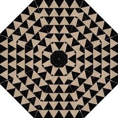 Triangle2 Black Marble & Sand Hook Handle Umbrellas (medium)