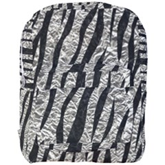 Skin3 Black Marble & Silver Foil Full Print Backpack