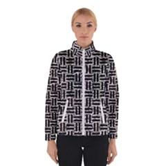 Woven1 Black Marble & Silver Foil Winterwear