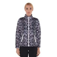 Damask2 Black Marble & Silver Glitter Winterwear