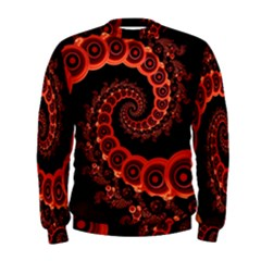 Chinese Lantern Festival For A Red Fractal Octopus Men s Sweatshirt