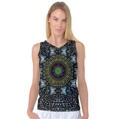Leaf Earth And Heart Butterflies In The Universe Women s Basketball Tank Top