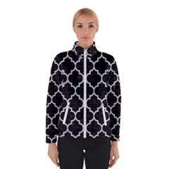 Tile1 Black Marble & Silver Glitter (r) Winterwear