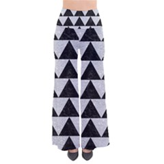 Triangle2 Black Marble & Silver Glitter Pants
