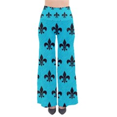 Royal1 Black Marble & Turquoise Colored Pencil (r) Pants