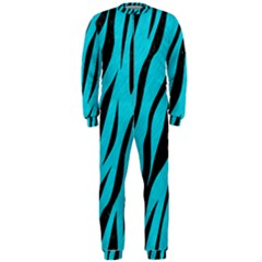 Skin3 Black Marble & Turquoise Colored Pencil Onepiece Jumpsuit (men)