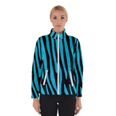 Skin4 Black Marble & Turquoise Colored Pencil Winterwear