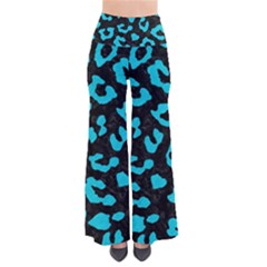 Skin5 Black Marble & Turquoise Colored Pencil Pants