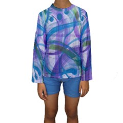 Construct Kids  Long Sleeve Swimwear