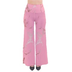 Luxurious Pink Marble Pants