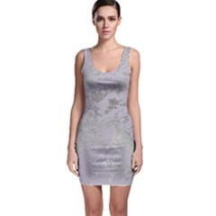 Luxurious Pink Marble Bodycon Dress
