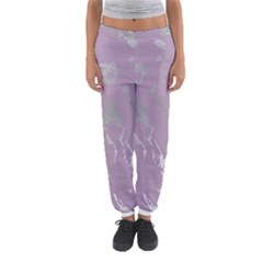 Luxurious Pink Marble Women s Jogger Sweatpants