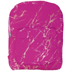 Luxurious Pink Marble Full Print Backpack