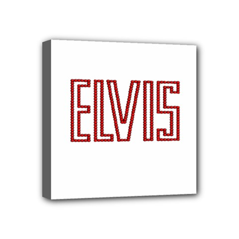 Elvis Presley Mini Canvas 4  X 4