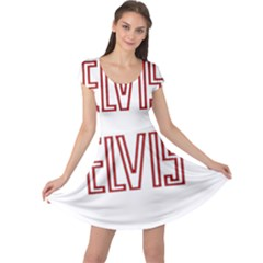 Elvis Presley Cap Sleeve Dress